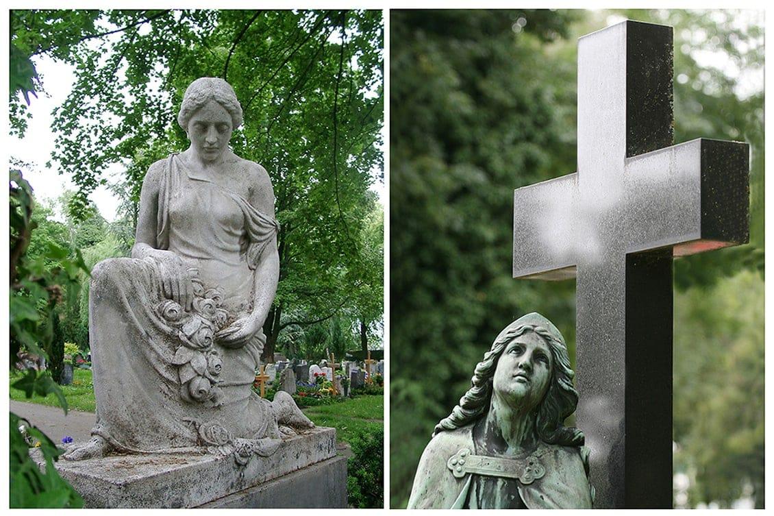 """Kunst einmal anders - Auf dem Friedhof """"Unter den Linden"""" in Reutlingen"""
