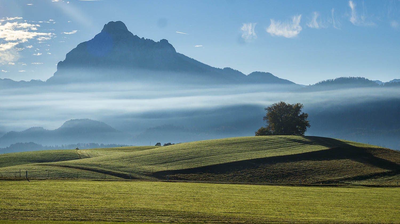 Goldener Oktober im Südallgäu