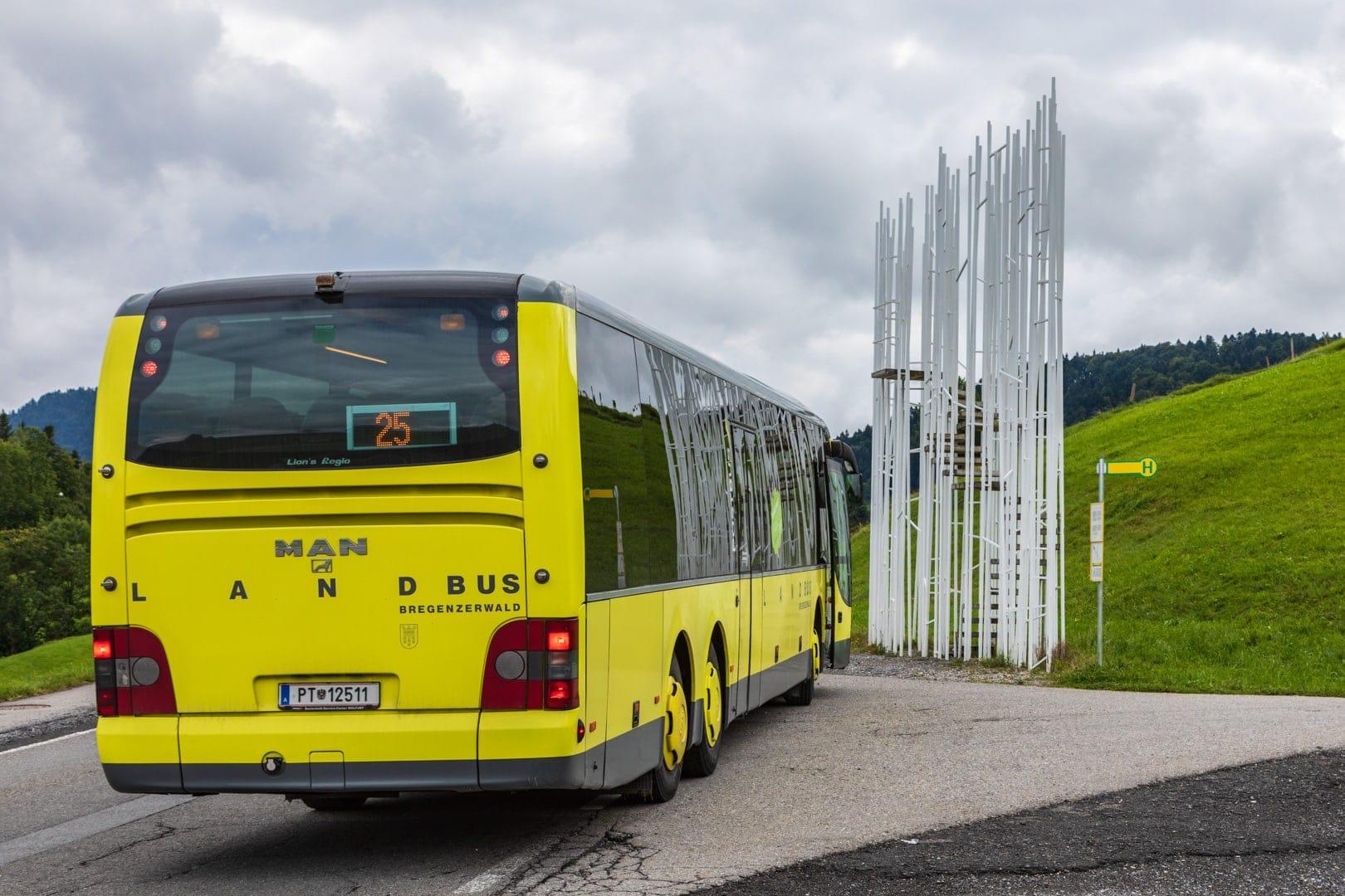 Busstop im Bregenzerwald
