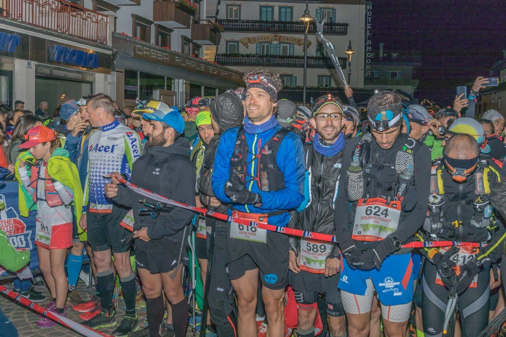 Kurz vor dem Start in Cortina