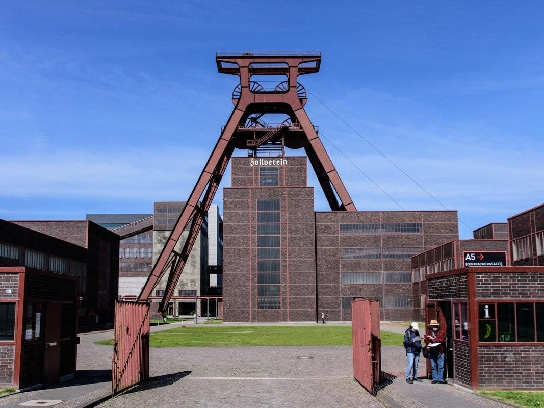 Eingang zur Zeche Zollverein