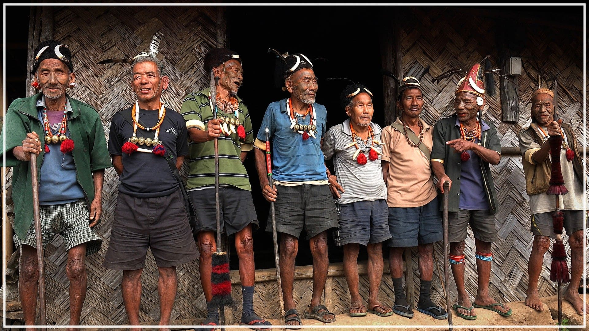 bei den (früheren) Kopfjägern im Nagaland