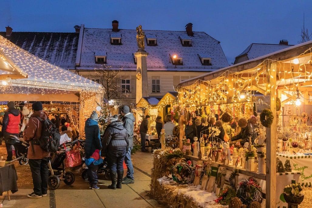 Weihnachtsmarkt in Gleisdorf, Steiermark