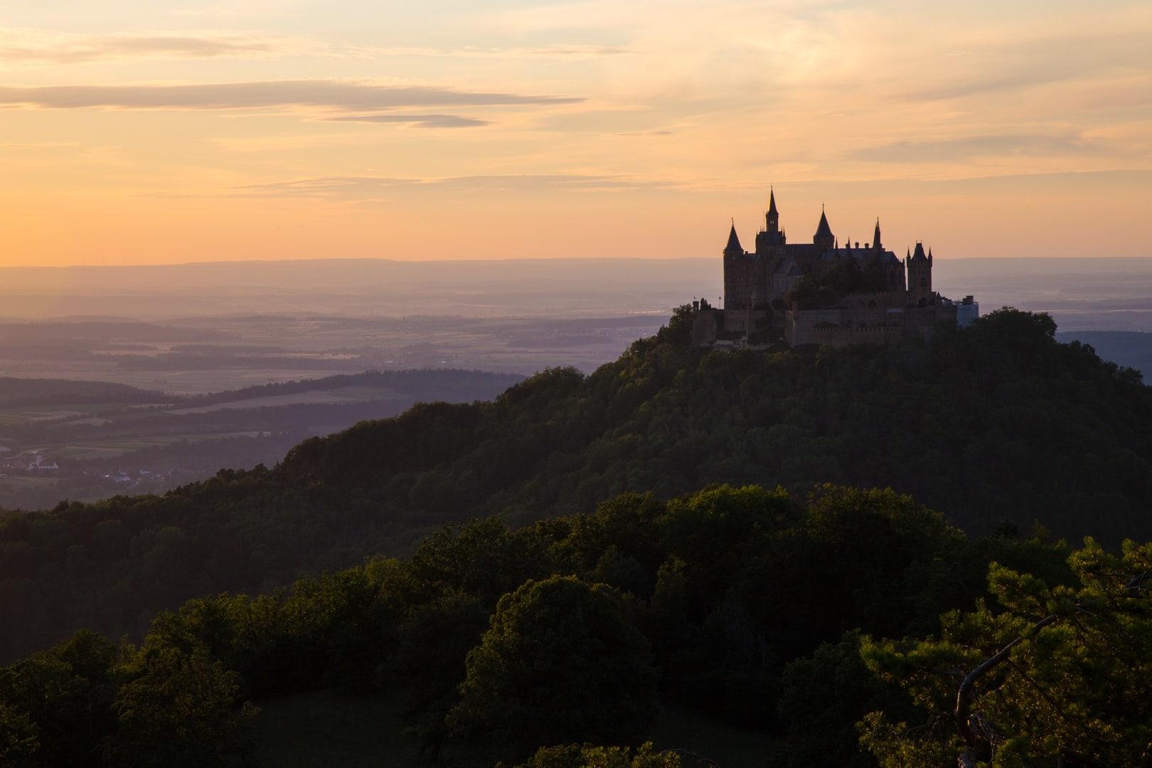 Auf Kometenjagd am Hohenzollern