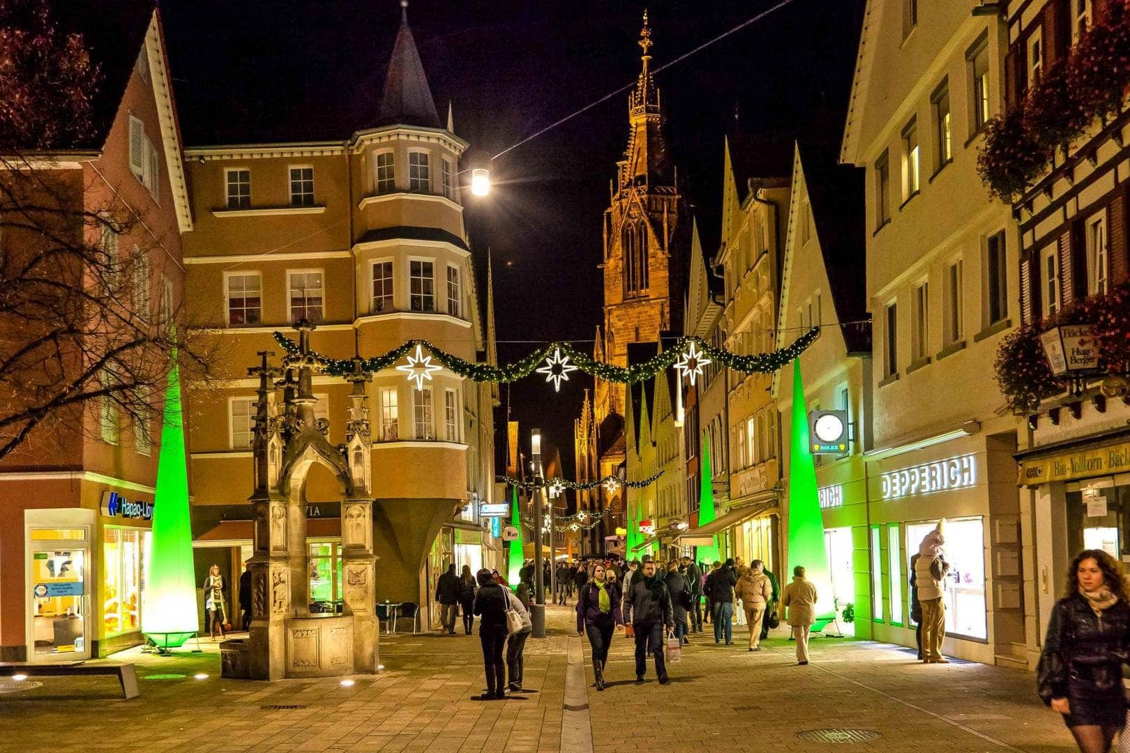 Lichterzauber in Reutlingen