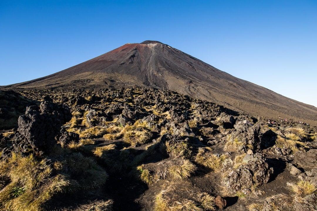 Der Bilderbuchvulkan Mt. Ngauruhoe (2291 m)