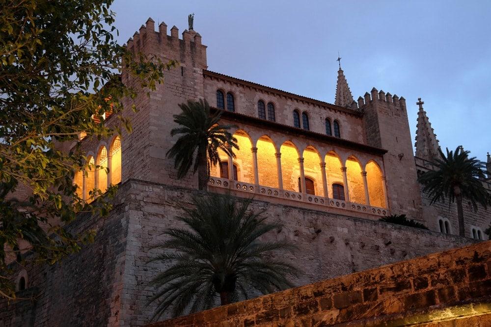 Abendspaziergang in Palma de Mallorca