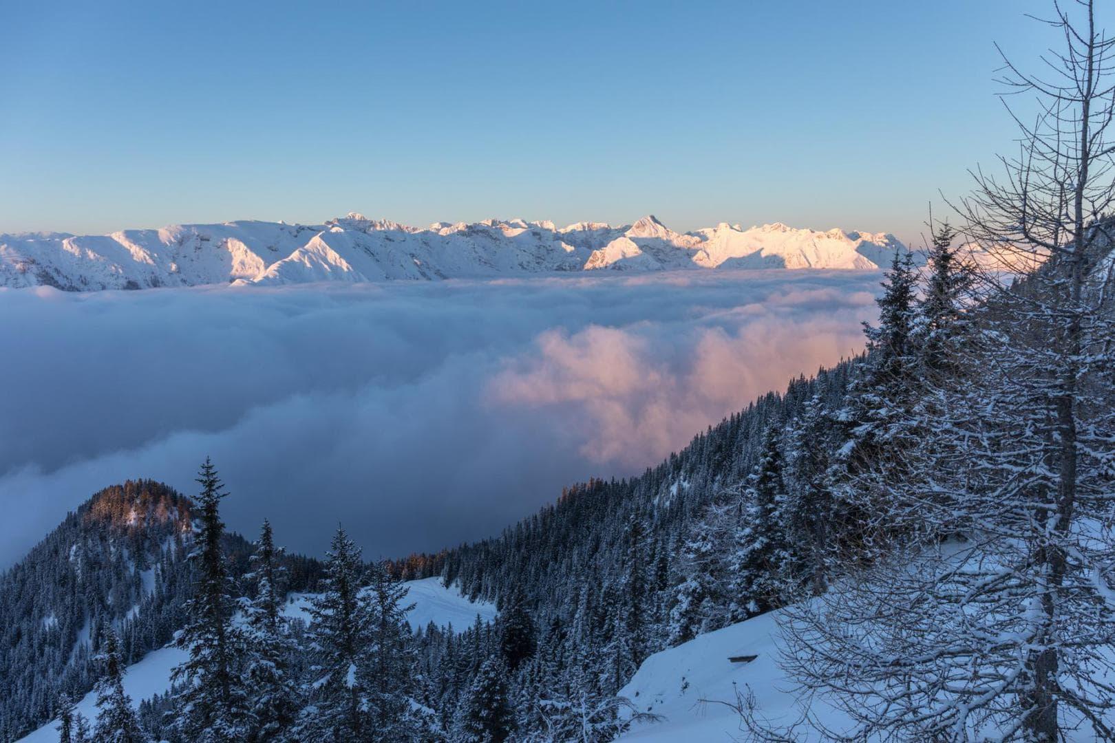 Sonnenaufgang über dem Karwendel