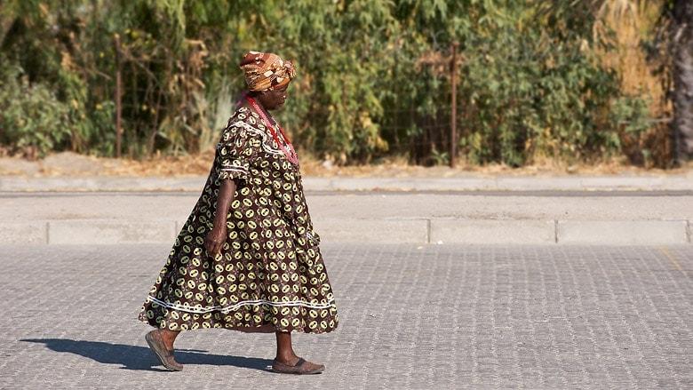 Ovambo-Frau