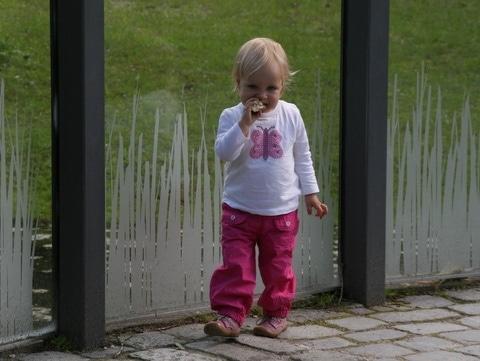 Im Tierpark Hellabrunn mit Stella