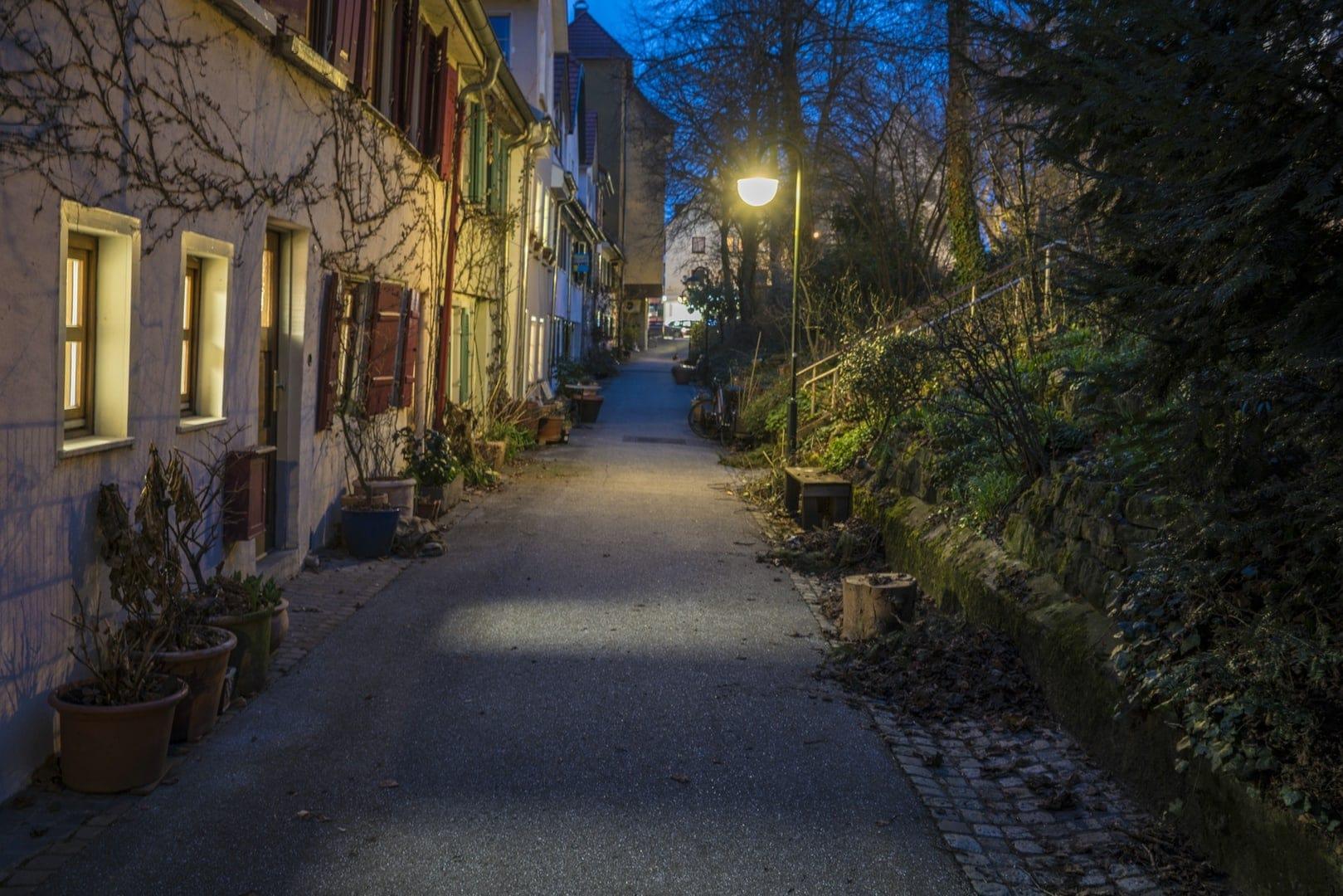 Nachtaufnahmen in Reutlingen