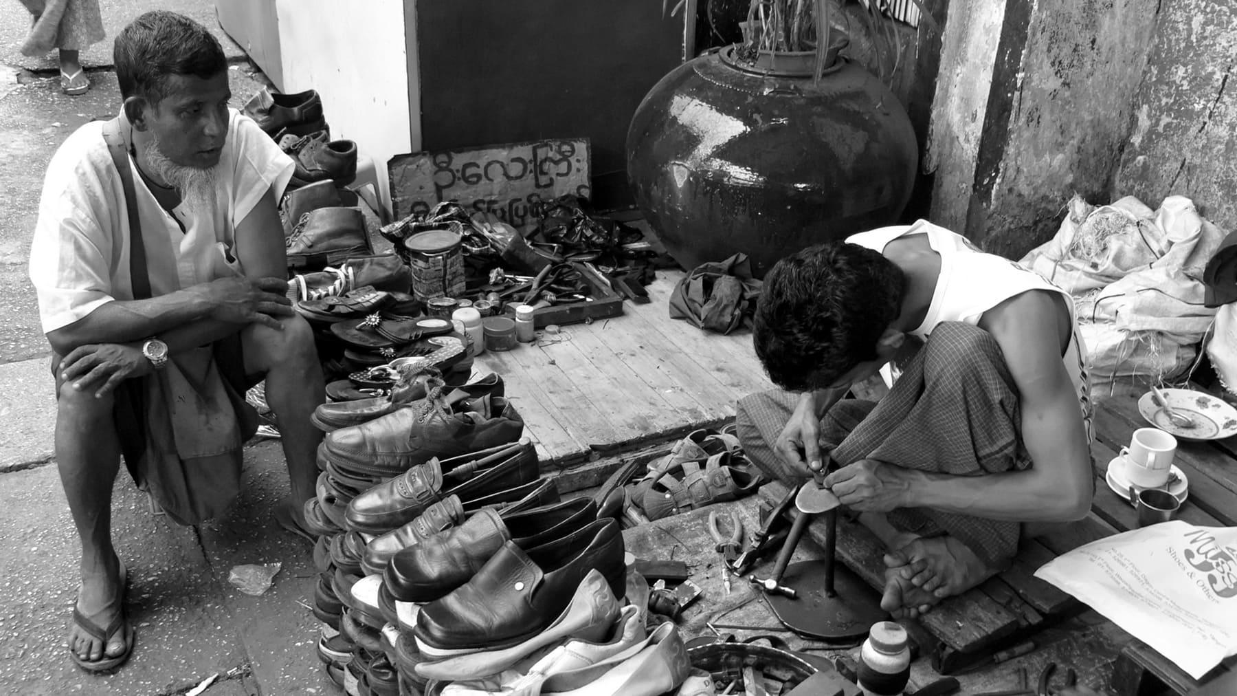 Schuhmacher - Bei uns ein ausgestorbener Beruf