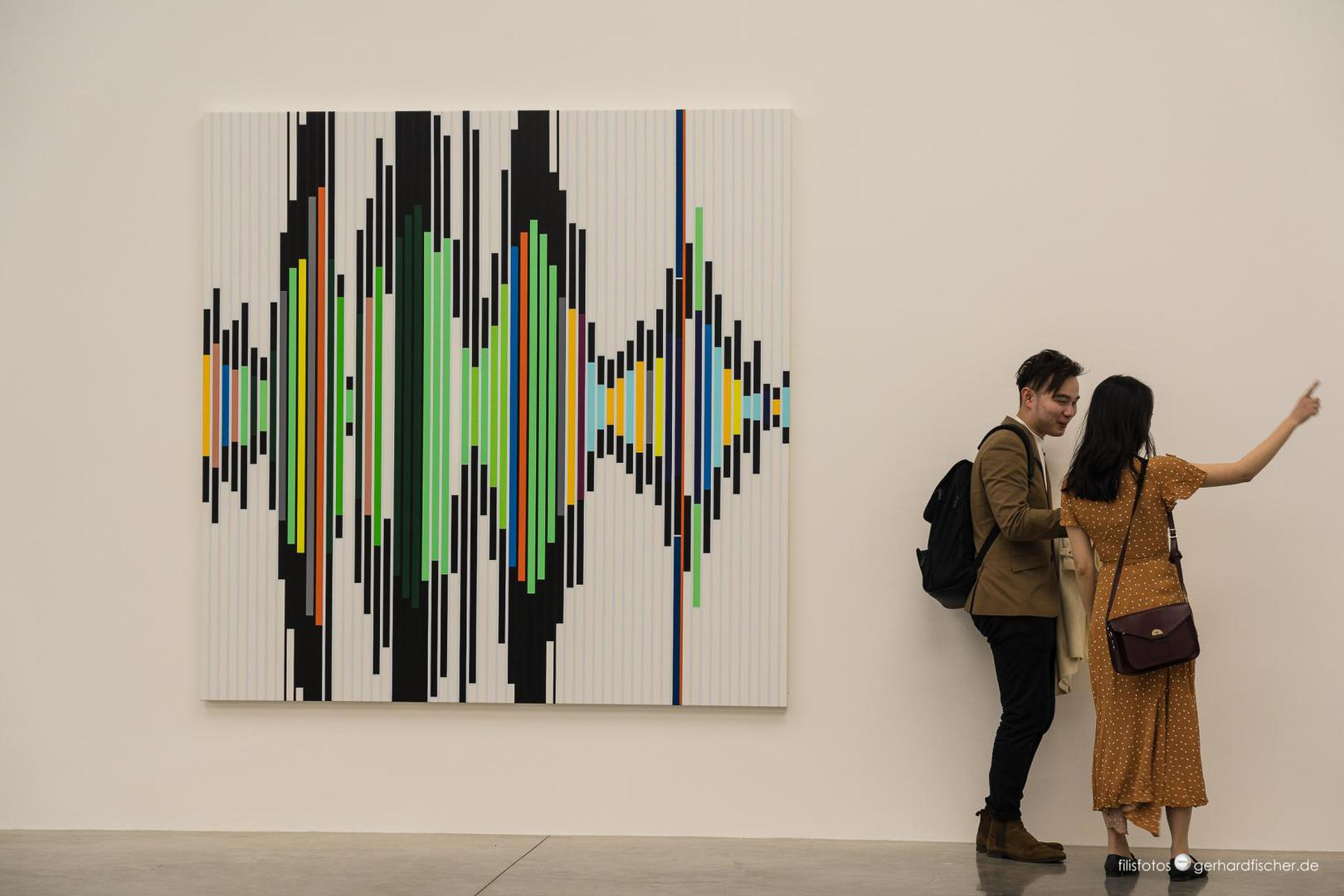 Photographer`s vibrations (in der Galerie White Cube)